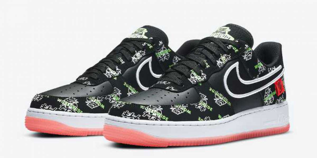 Latest Nike Air Force 1 Worldwide Pack Release Black Color