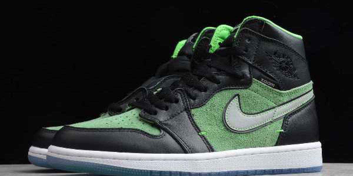 "New Air Jordan 1 High Zoom ""Rage Green"" 2020 CK6637-002 For Sale Online"