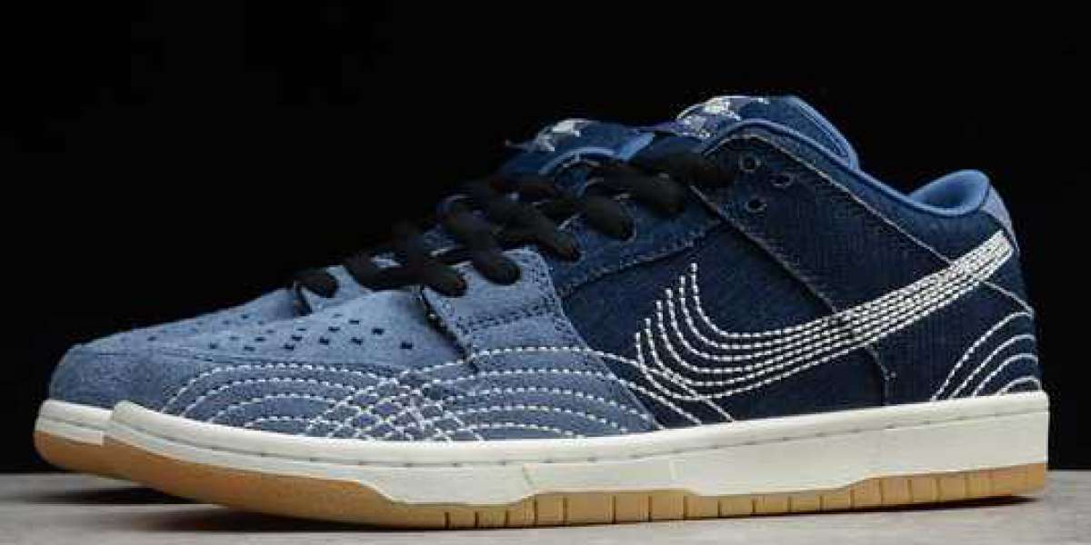"Nike SB Dunk Low Pro Prm ""Denim Gum"" Mystic Navy/Gum Light Brown-Sail 2020 CV0316-400"