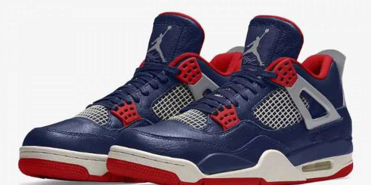 Air Jordan 4 SE Deep Ocean/Sail-Cement Grey-Fire Red 2020 CW0898-400 For Sale Online
