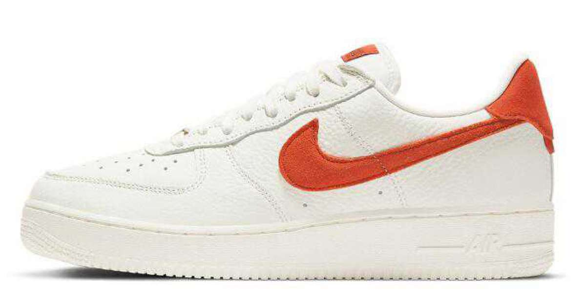 When Can We Expect the Nike Air Force 1 White Mantra Orange ?