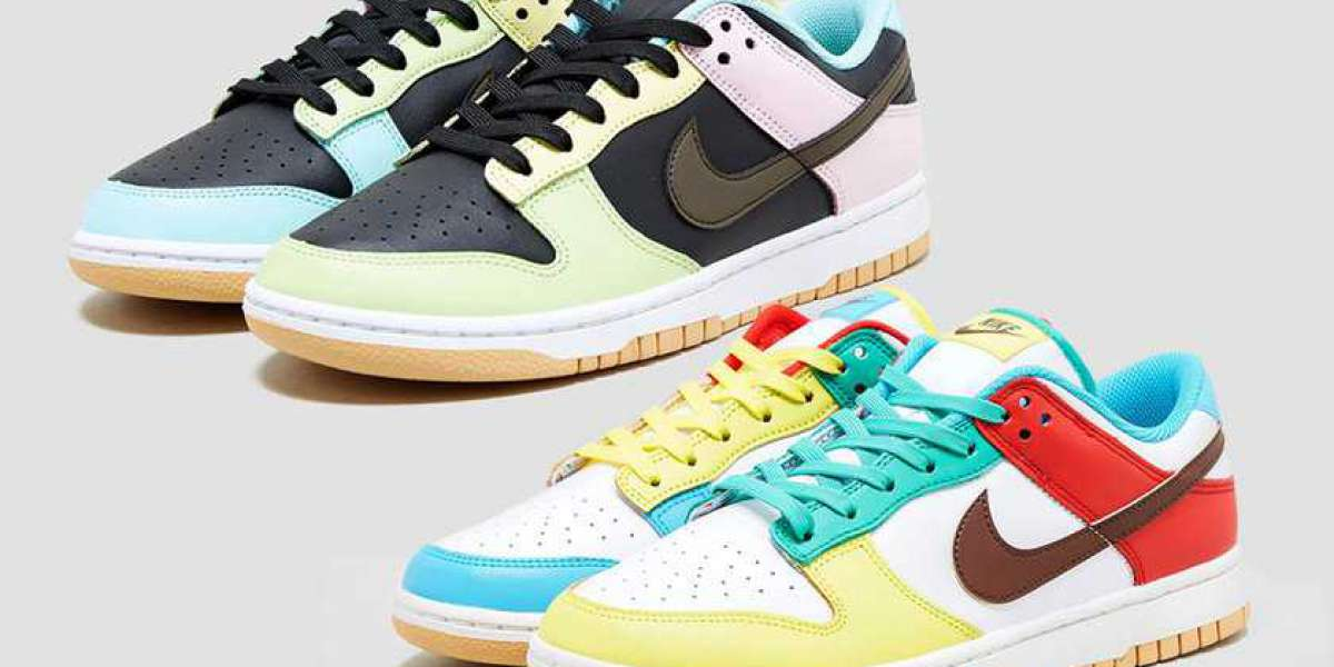 """DH0952-001 Nike Dunk Low """"FREE.99"""" will officially debut this summer"""