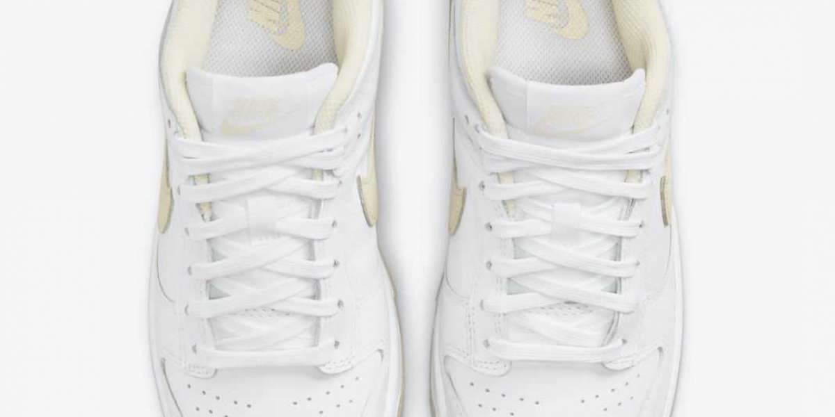 """Pearl white dress up! New colorway Nike Dunk Low """"Pearl White"""" Do you love it?"""